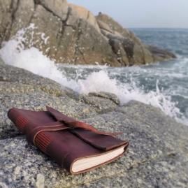 Waterproof Paper Leather Handmade Travel Journal