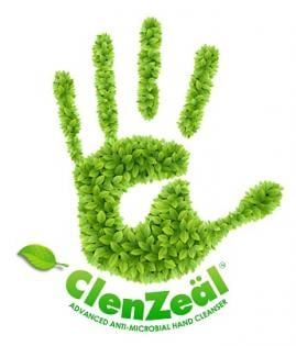 ClenZeäl Antimicrobial Hand Cleanser