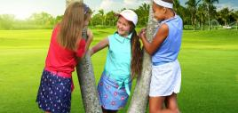 Jr. Girls Athletic Wear for On and Off the Course