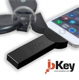 bKey: the most compact wireless smartphone battery