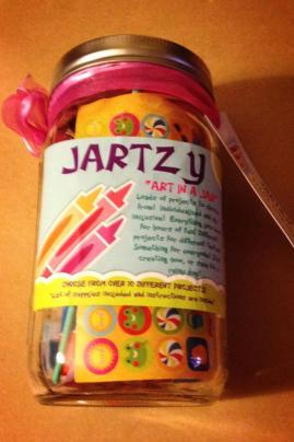 "JARTZY ""Art Project in a Jar"""