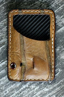 A Perfect Gift For Him. Front Pocket Wallet Built From Vintage Baseball Gloves