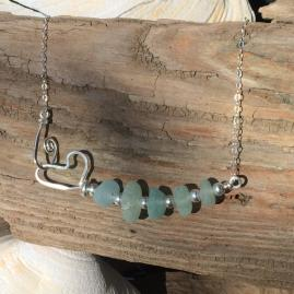Sterling Silver and Seaglass Jewelry
