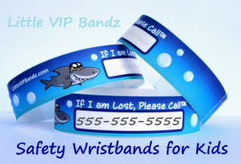 Safety Wristbands for Kids