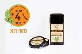 Organic, DEET Free Insect and Tick Repellent