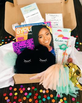 Monday Sparkles is a tween subscription box company for girls ages 8-12.