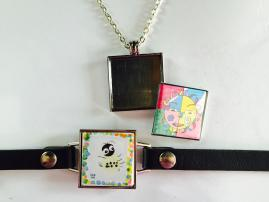 ArtClix Square Interchangeable Jewelry