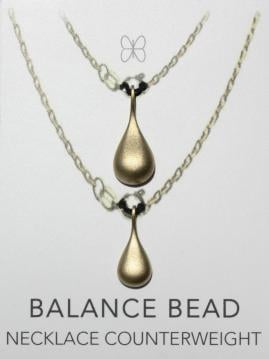 Balance Bead Necklace Counterweight
