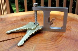 The Key Shackle Bottle Opener