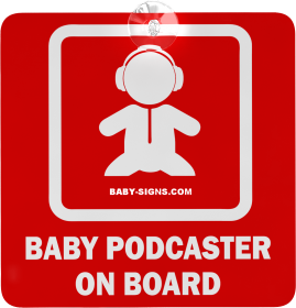 Baby-preneur Baby Car Sign