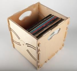 Wax Stacks Record Crate