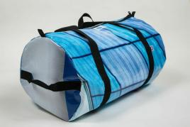 Upcycled Billboard Bags made in Colorado