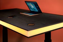 TableAir - simple, elegant and smart standing table