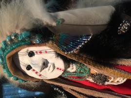 American Indian Gourd Doll