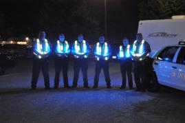 BRIGHTEST LED SAFETY VEST