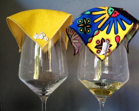 VelaVino - Elegant Wine Glass Covers