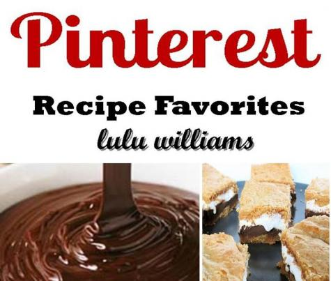 PINTEREST Recipe Favorites Cookbook