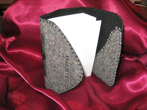 Recycled Fabric Covered Journals