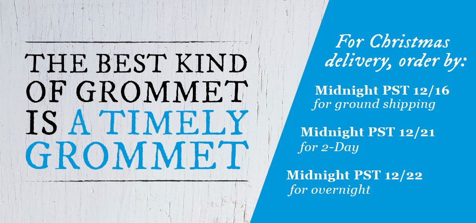 Wrap up the season. The best kind of Grommet is a timely Grommet.
